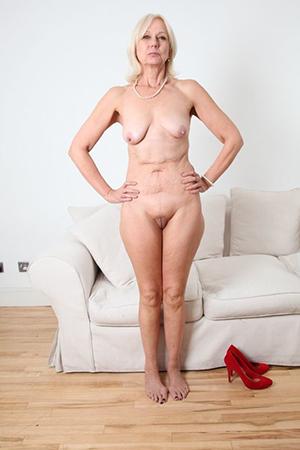 Horny older hairy women