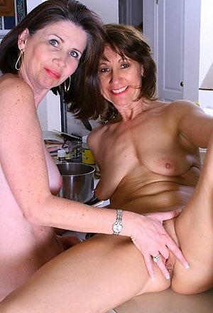 Sweet nude mature lesbian milfs