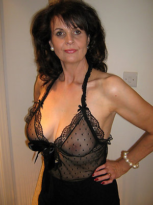 Pretty hot mature lingerie sex pictures