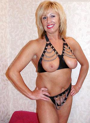 Horny sexy mature lingerie porn