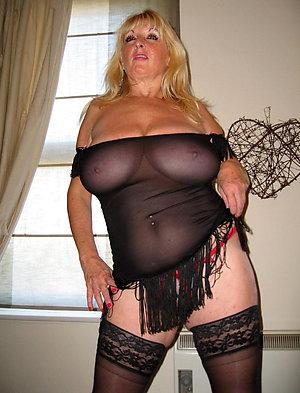 Erotic xxx sexy mature in lingerie