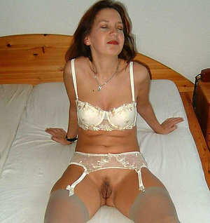 Sweet erotic wife in sexy lingerie