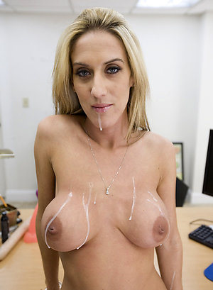 Busty sexy mature moms posing nude