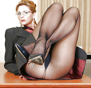 Nice sexy old ladies in pantyhose photos