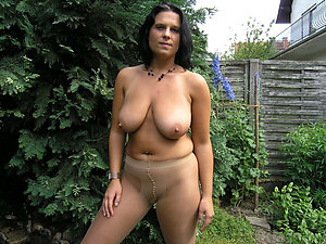 Crazy mature milfs in pantyhose