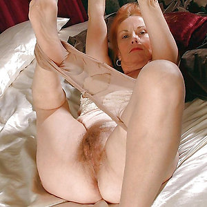 Sweet beautiful matures in pantyhose