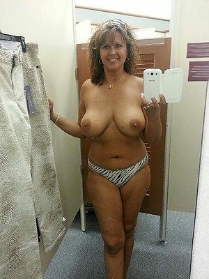 Horny hot mature sexy selfies photos