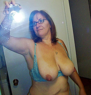 Selfie amateur mature wife strip