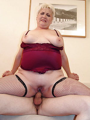 Inexperienced old women having sex