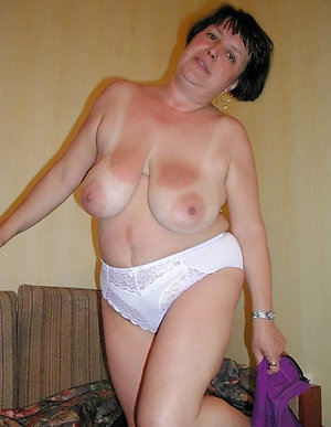 Beautiful older women in sheer panties