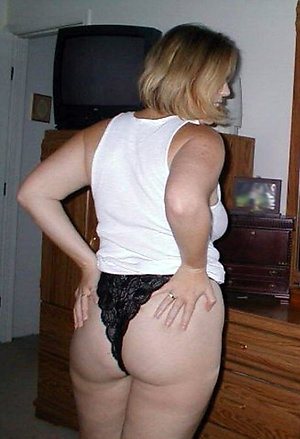 Private older women showing their panties