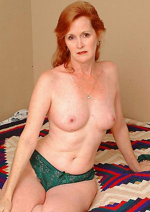 Magnificent mature naked redheads