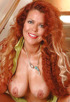 Favorite naked redheaded mature women