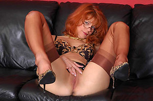 Inexperienced older redhead women sex