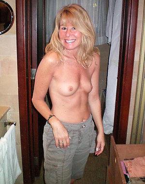 Pretty small tit mature women pics