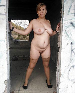 Busty mature women in nylon stockings