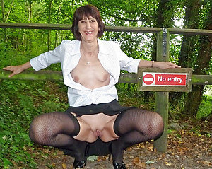 Amazing mature upskirt gallery