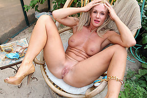 Crazy mature nude wife stripped