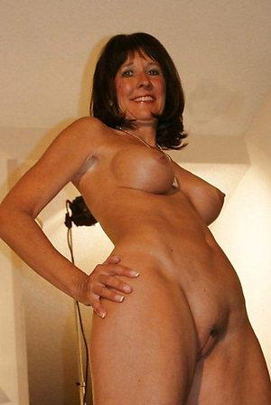 Beautiful natural mature wife facial