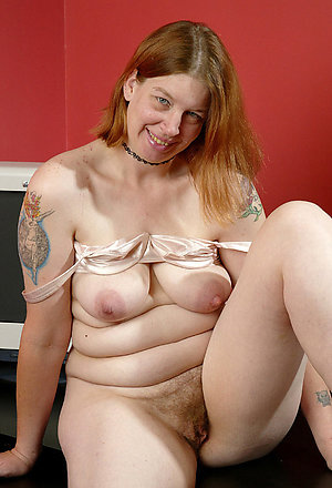 Pretty sexy mature tattooed women