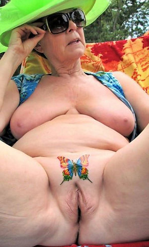 Real sexy mature women with tattoos