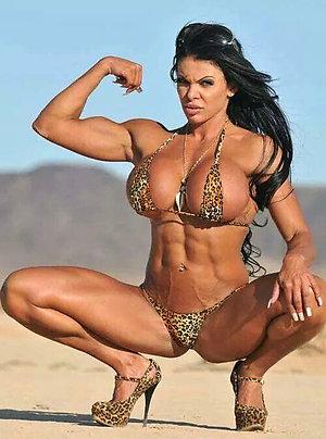 Gorgeous muscle women porn
