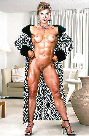 Amazing muscle mature women