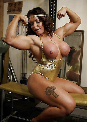 Fantastic mature muscles photos