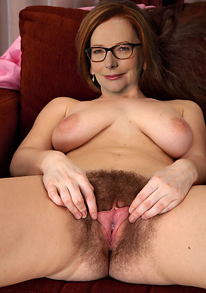 Pretty naked older hairy women