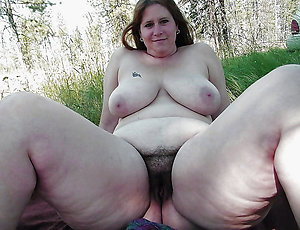 Inexperienced very hairy old women