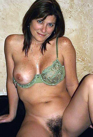 Naughty beautiful hairy mature women