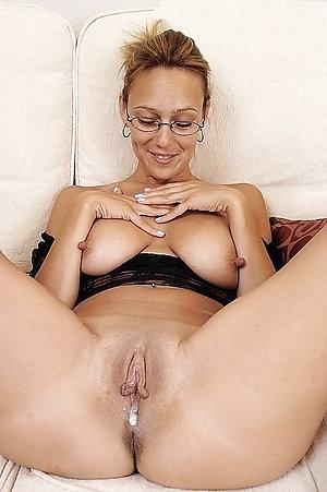 Horny amature mature creampie pics