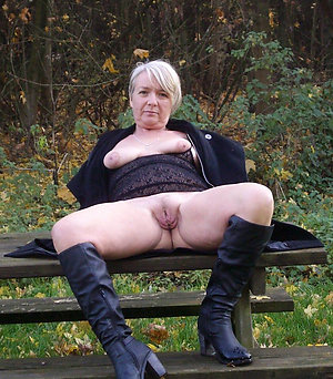 Naked women masturbating outdoors