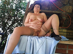 Naughty naked women in the outdoors