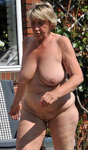 Real hot old women masterbating