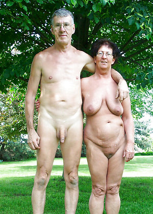 Overcome pics of nude mature couples