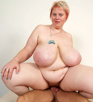 Lovely fat sexy mature