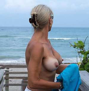 Free nude older women in beach