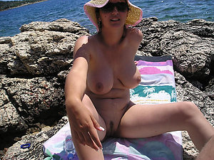 Favorite mature beach tits