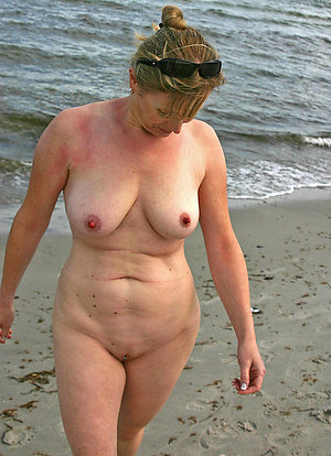 Best mature at the beach pics