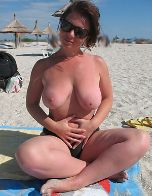 Hot mature beach babes