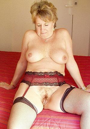 Real sexy mature stocking sluts