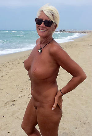 Naked mature beach babes