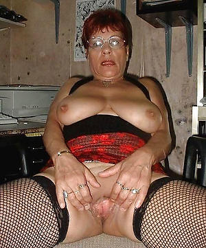 Naughty clumsy mature housewife