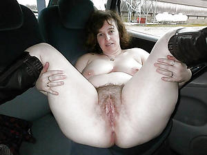 Handsome mature sex in car porch