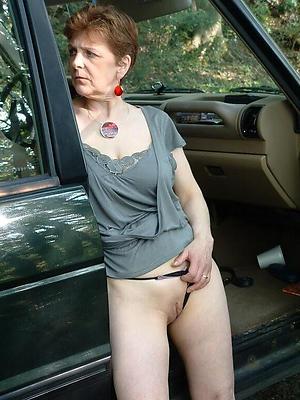 Defoliate hot mature car porn