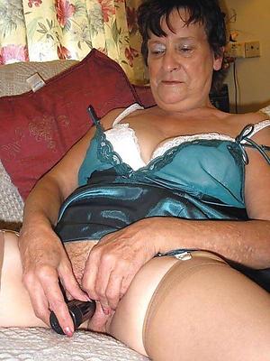 Handsome granny nude women