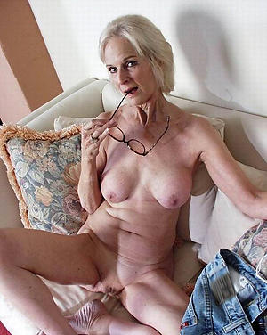 Hot gaunt full-grown women