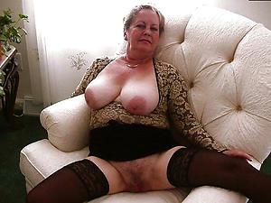 Naked mature european