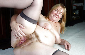 Wretched mature column thither hairy vaginas